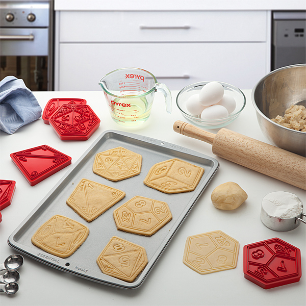 Critical Hit Cookie Cutters