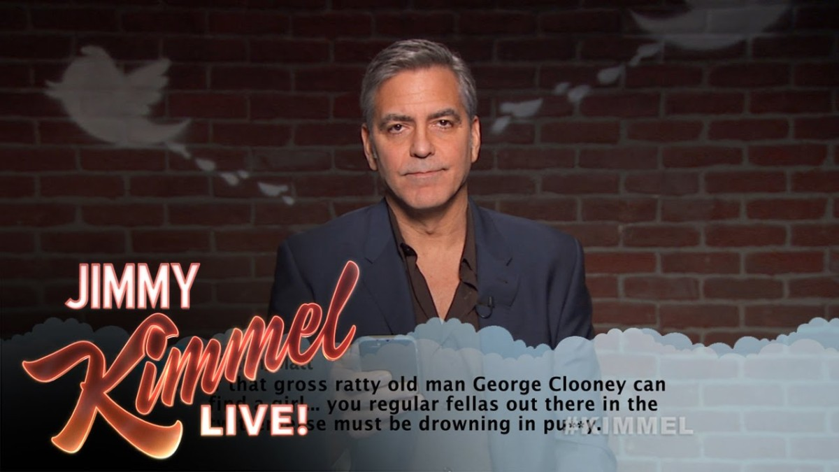 Movie Stars Reading Mean Tweets About Themselves on Jimmy ...