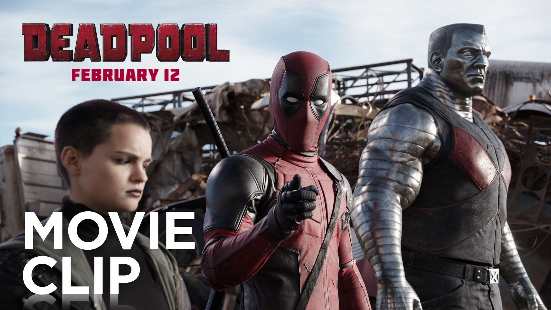 Negasonic Teenage Warhead and Colossus Battle Angel Dust in a Hilarious New Clip for Deadpool