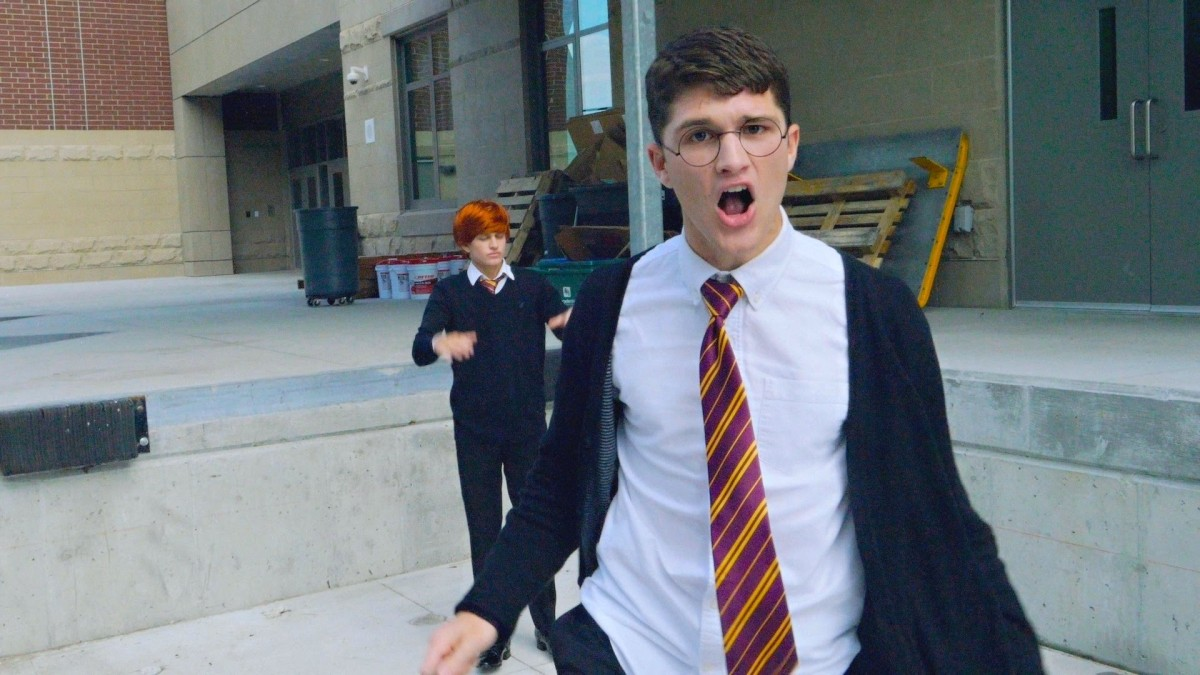 Straight Outta Hogwarts, A Harry Potter Parody of the Classic N.W.A. Gangsta Rap Song
