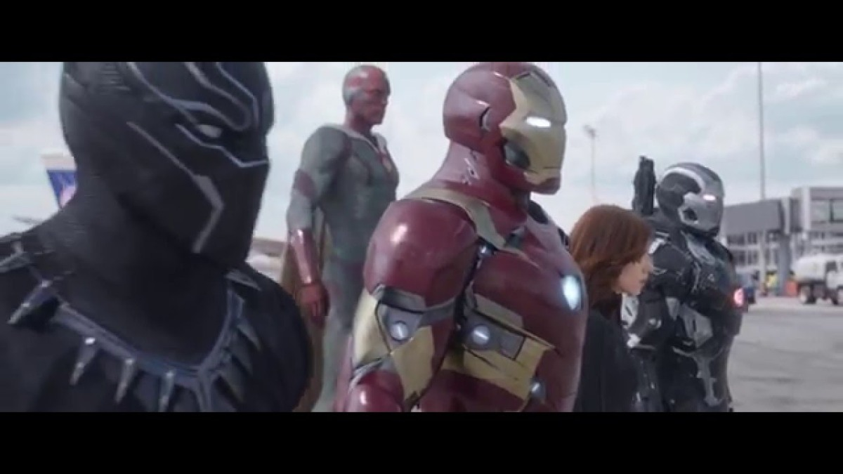 The Avengers Are Divided and Facing Off Against Each Other in a New Clip for Marvel's Captain America: Civil War
