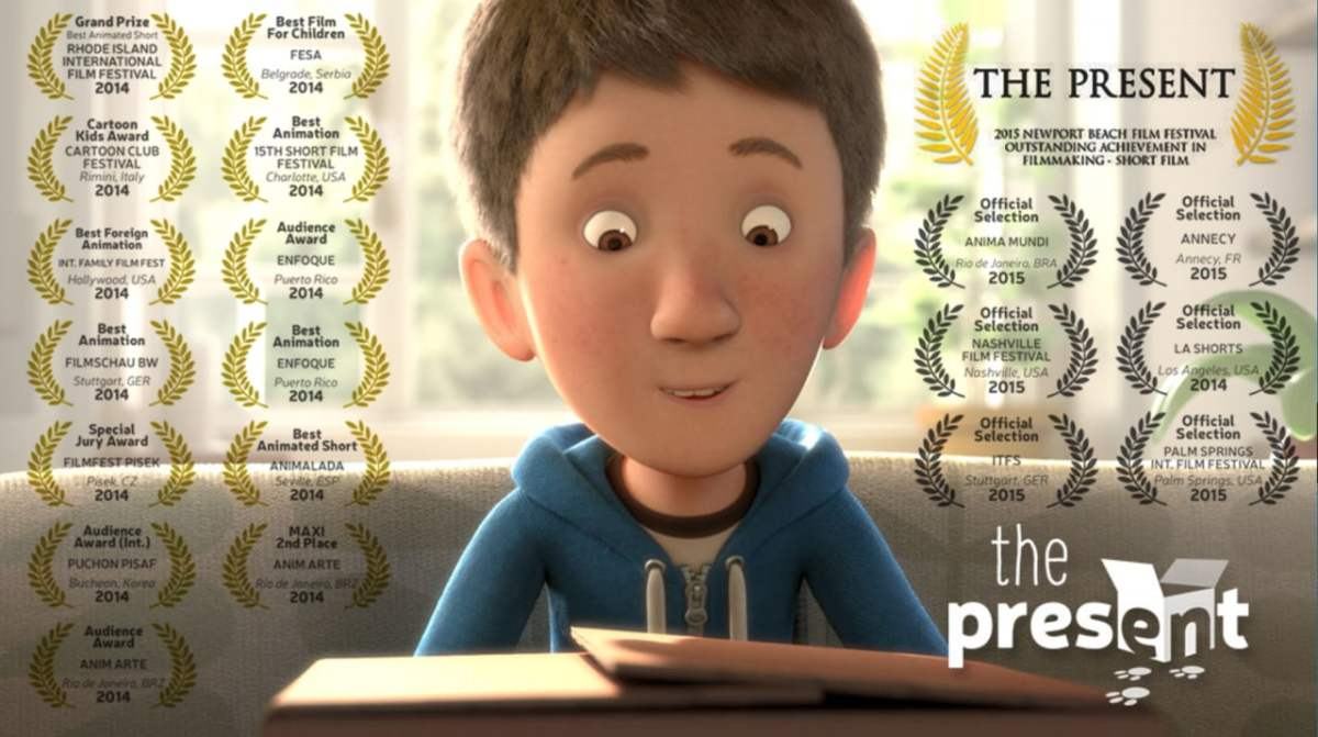 The Present, A Touching Animated Short Film About a Boy and His New Dog