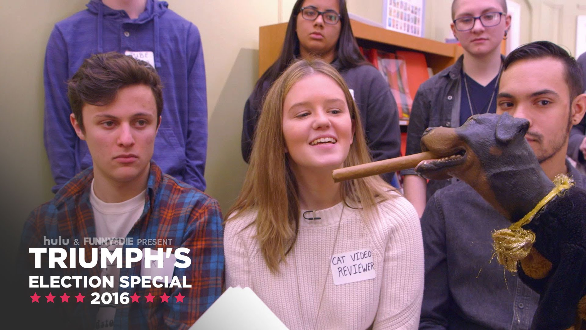 triumph the insult comic dog speaks with young new hampshire