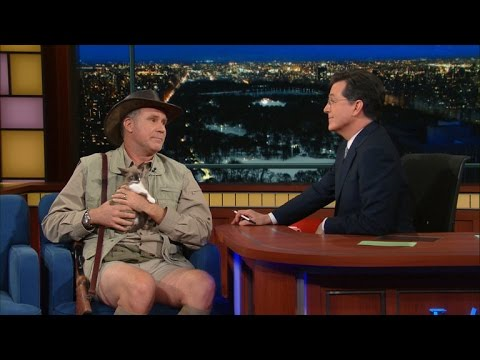 Will Ferrell Shows Up As an Exotic Animal Expert on The Late Show with Stephen Colbert