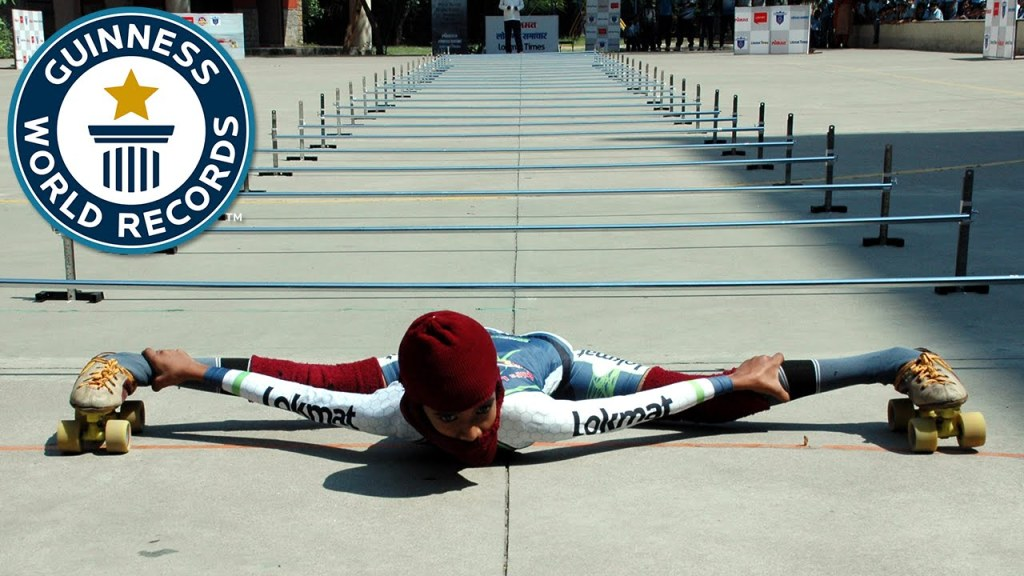 11-Year Old Girl From India Reclaims the Guinness World Record for Lowest Limbo Skating