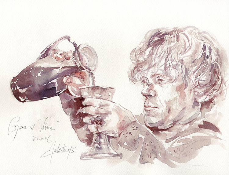 Game of Wine Tyrion