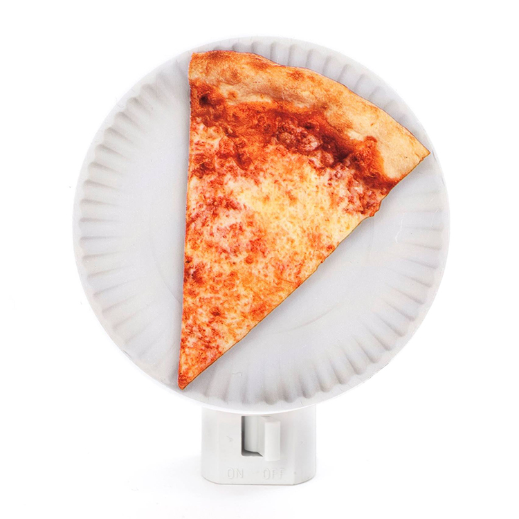 Pizza Night Light  sc 1 st  Laughing Squid & A Pizza Night Light That Features a Slice of Illuminating Cheese ...