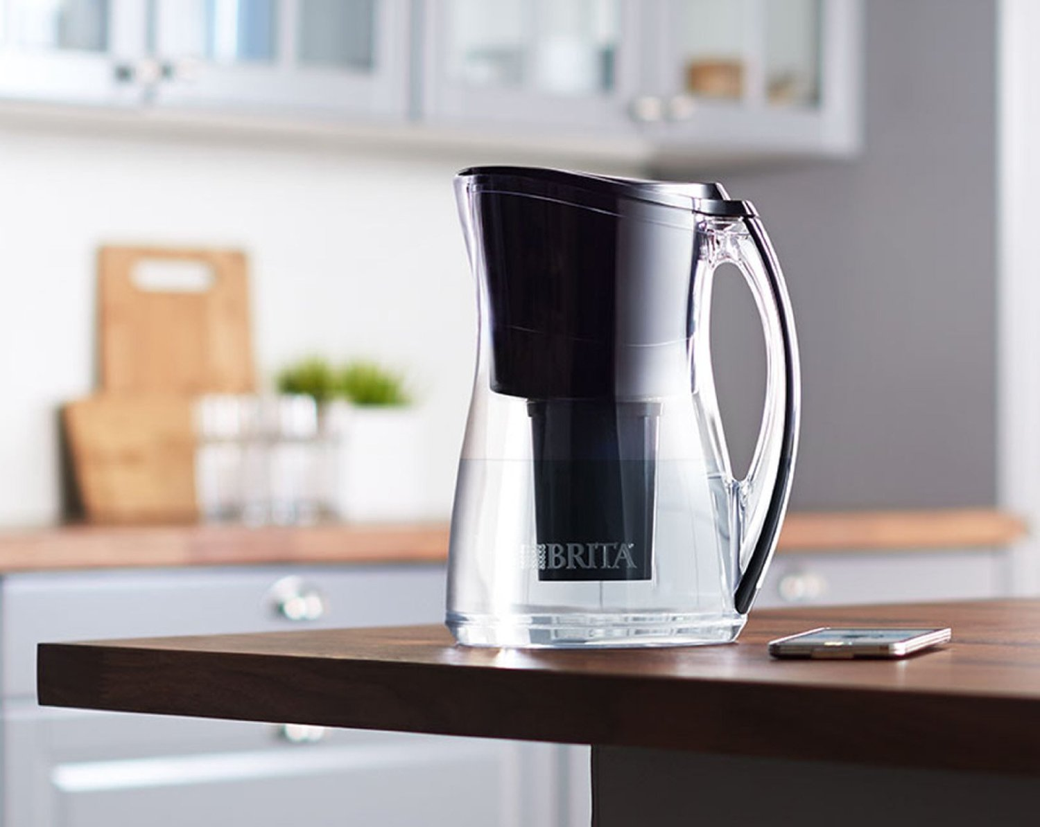 a wi fi enabled brita water pitcher that automatically. Black Bedroom Furniture Sets. Home Design Ideas