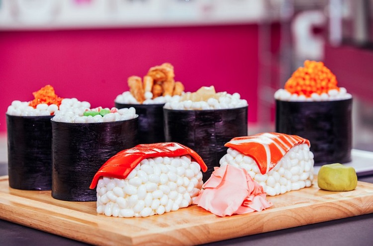 Sponge Sushi