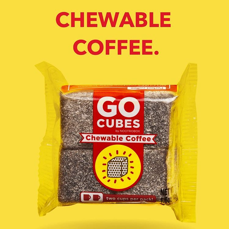 Go Cubes Convenient Chewable Coffee Gummy Bites With A Precisely