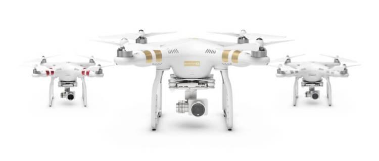 DJI Phantom 4 Drones