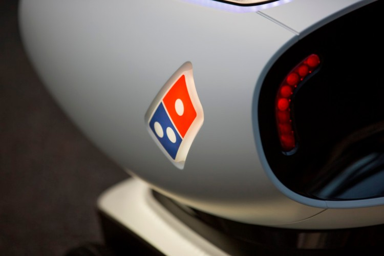 DRU Pizza Robot Logo