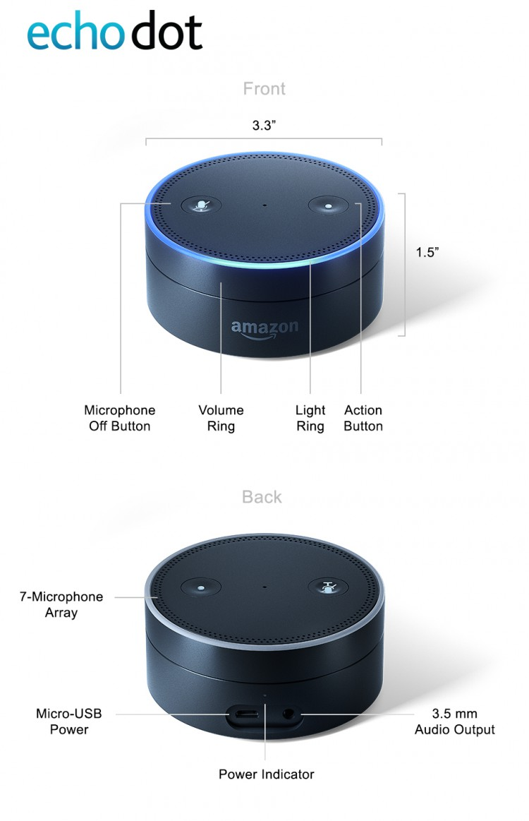 Echo Dot Diagram