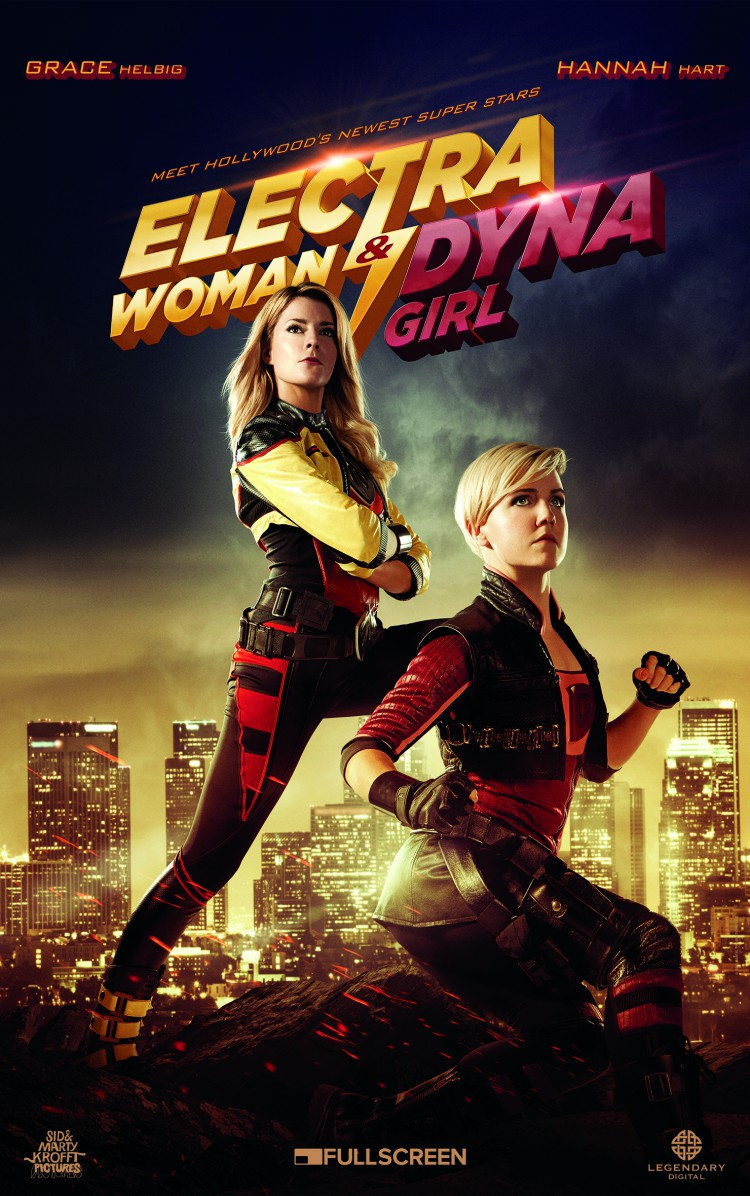 Grace Helbig & Hannah Hart Star as Electra Woman and Dyna Girl in a Remake of the Classic TV Show