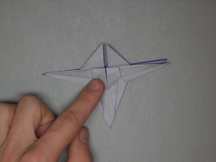 Origami Starfighter