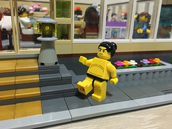LEGO Sushi Restaurant Sumo