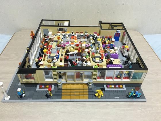 LEGO Sushi Scene