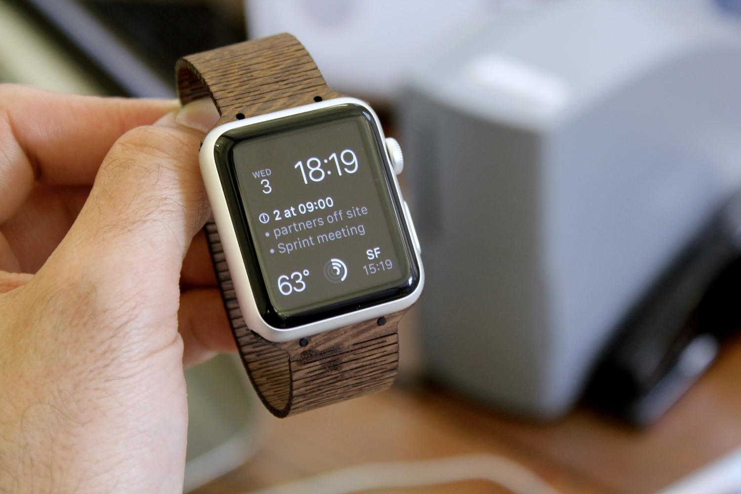 Retro Natural Bamboo Wood Handmade Bands for iWatch Strap