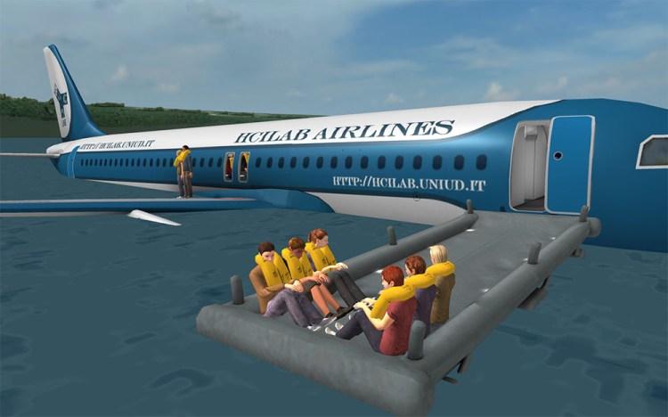 Prepare for Impact Water Landing