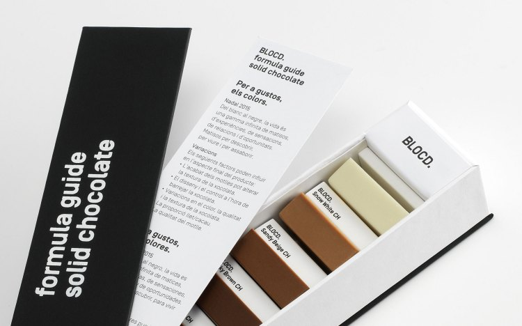 A Beautiful Box of Chocolates Ingeniously Packaged as a Pantone Color Guide
