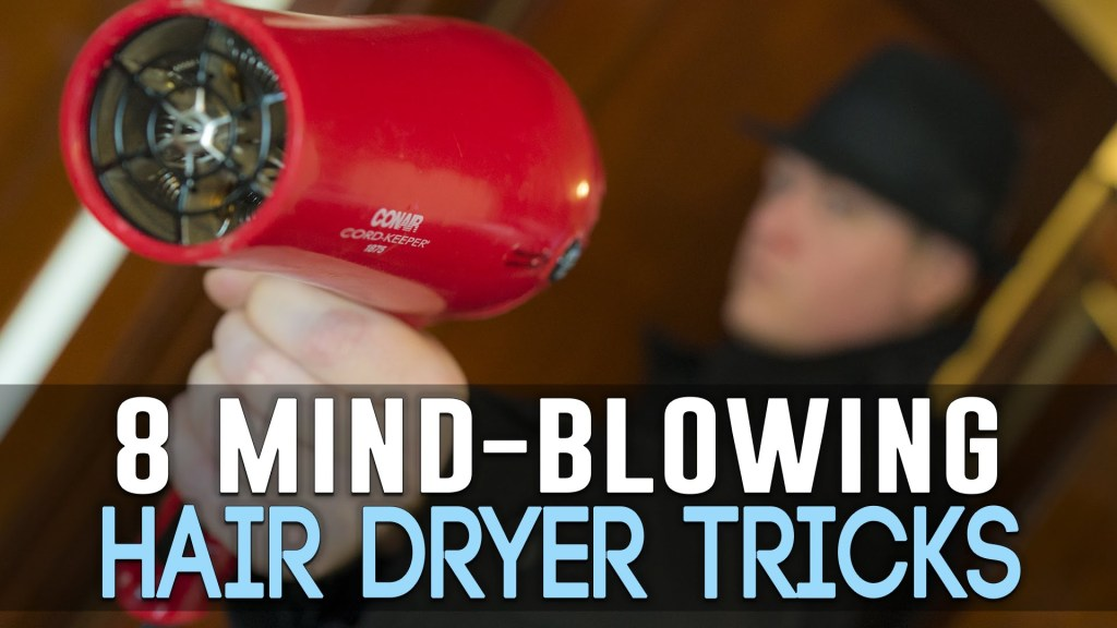 Creative alternative uses for a hair dryer - Unusual uses for a hair dryer ...