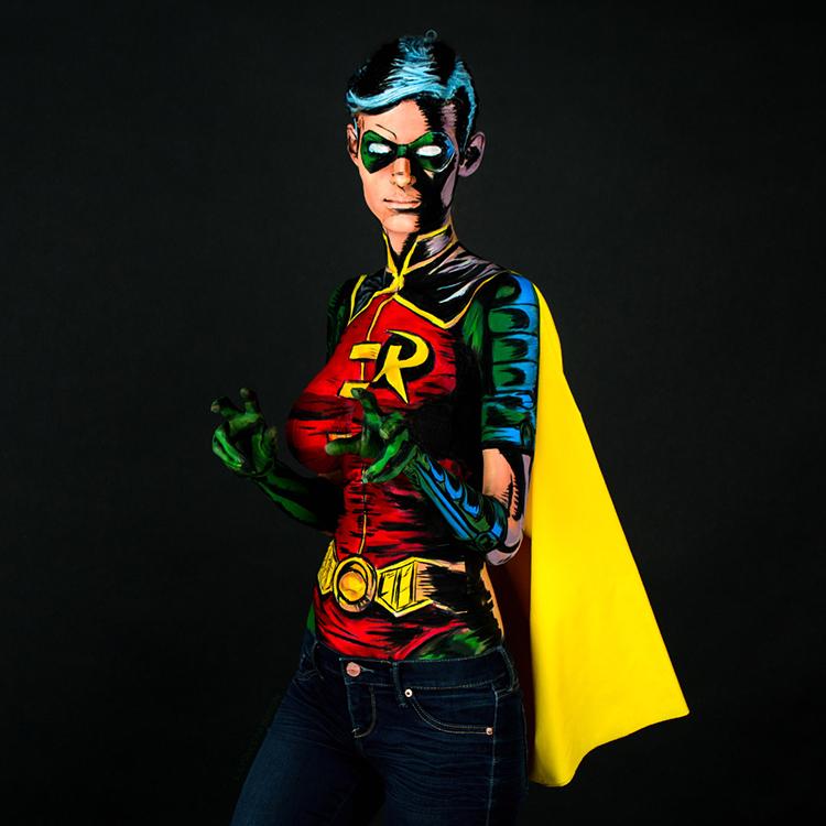 Robin Bodypaint