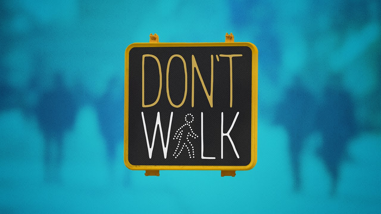 A Short Film About a Walk and Don't Walk Sign Fighting Over Who is Visible on the Traffic Signal