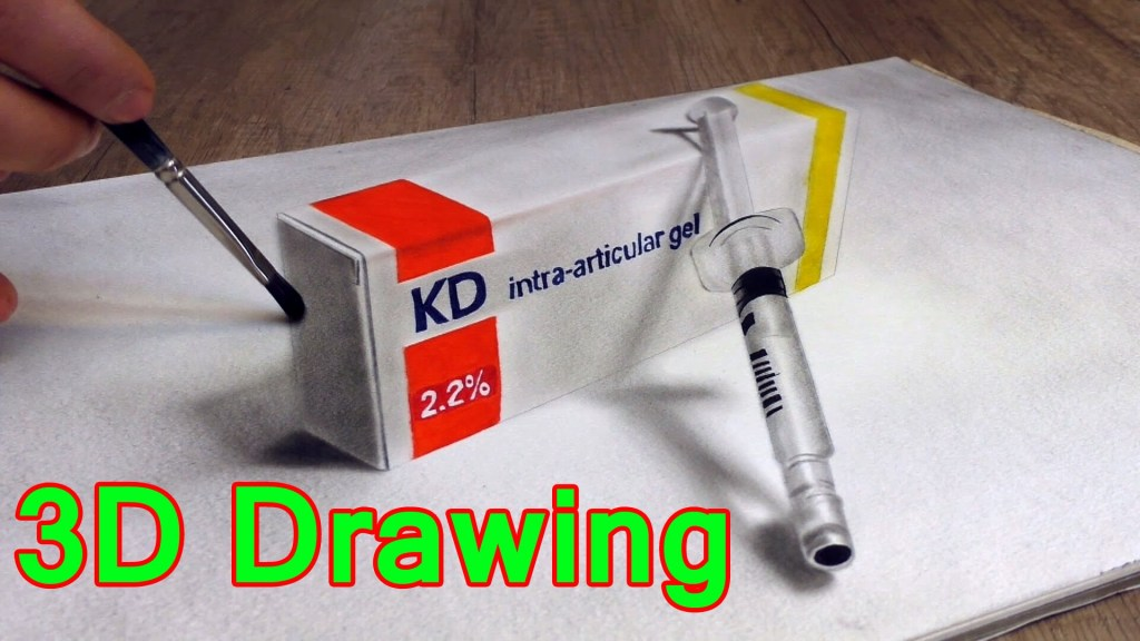 German Artist Stefan Pabst Creates a Captivating 3D Optical Illusion Drawing of Medical Supplies
