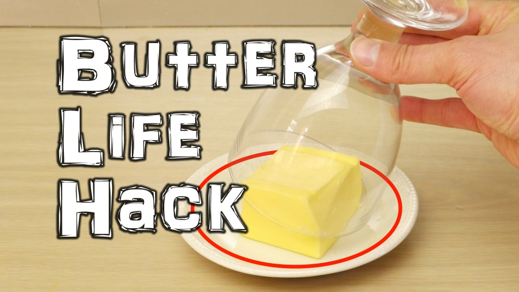 How to Soften a Hard Stick of Butter in Minutes With a Warm Glass