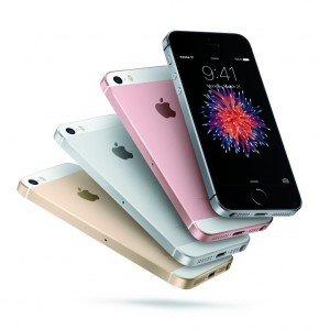 iPhone SE Color Fan