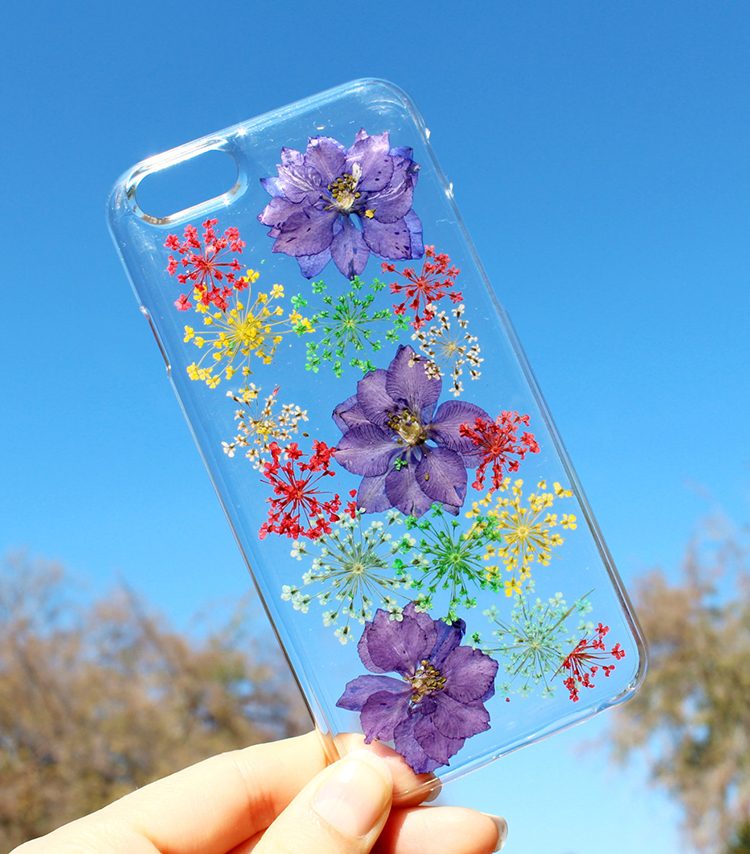 Pressed Flower Case