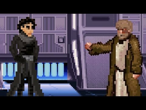 Kylo Ren Tells Luke Skywalker Why He Actually Turned to the Dark Side in an Animated Short by Dorkly