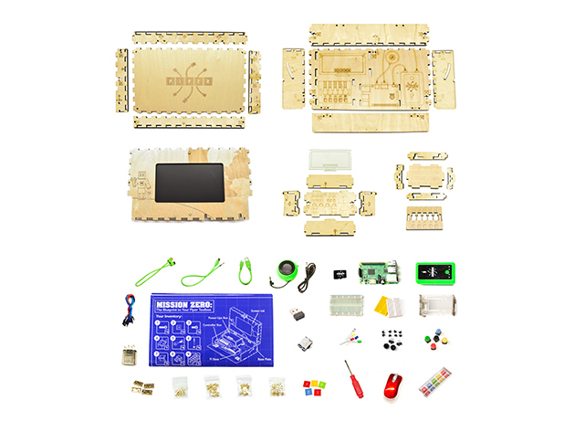 Piper Raspberry Pi Kit Pieces