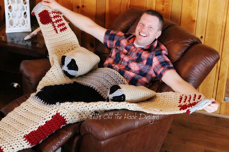 Crochet X Wing : Cozy Crocheted Star Wars X-Wing Fighter Blankets