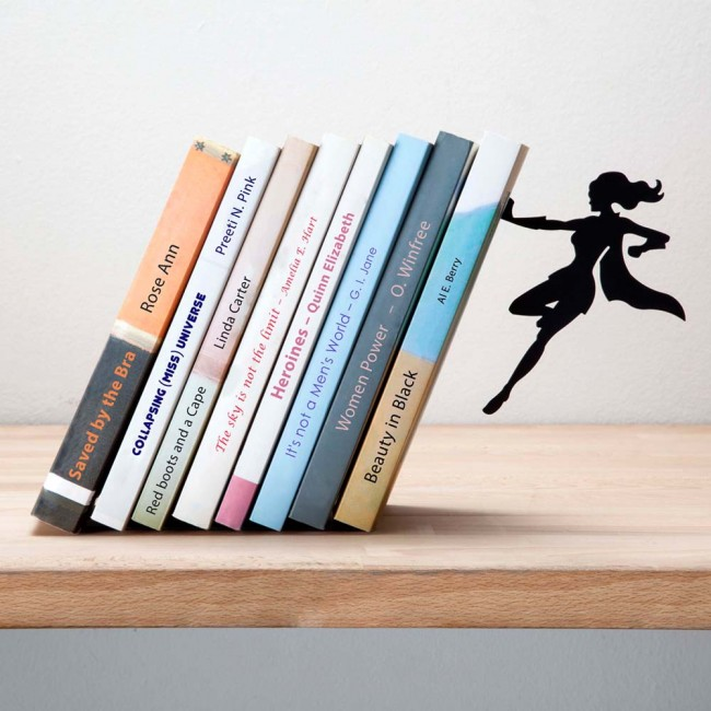 Supergal Bookshelves And Bookends For Keeping Your Books