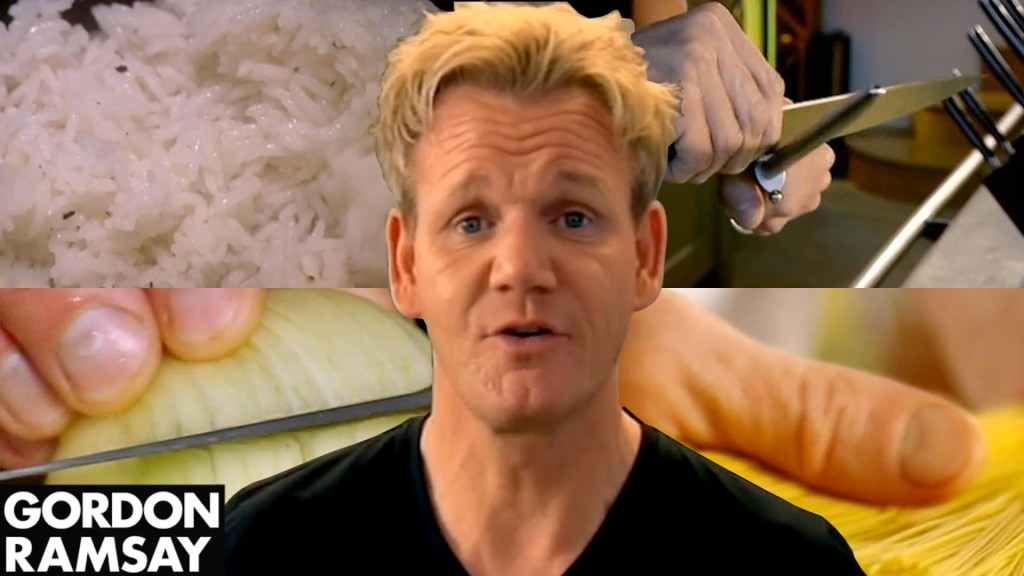 The Famously Fickle Chef Gordon Ramsey Offers a Lesson in Basic Cooking Skills