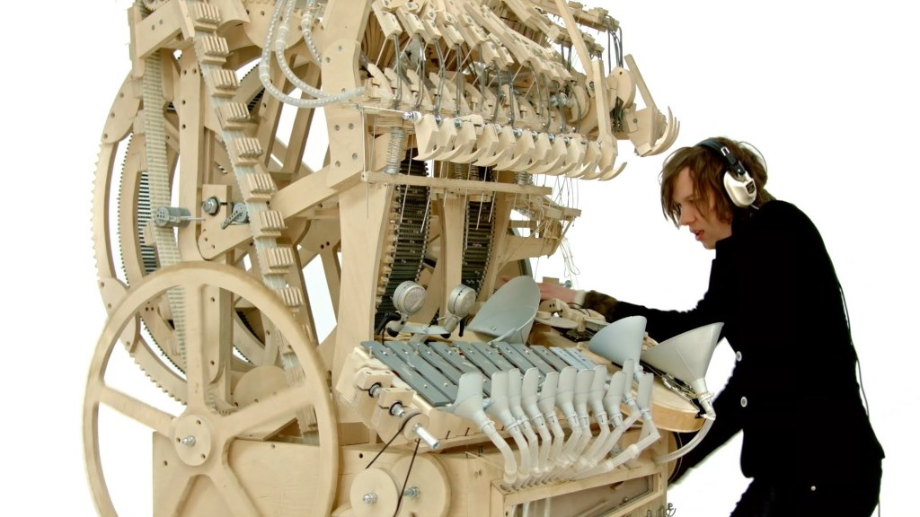 The Wintergatan Marble Machine A Hand Cranked Instrument