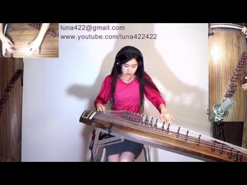 'With or Without You' by U2 Played on a Traditional Korean Gayageum