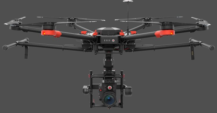 DJI Matric 600 Side View