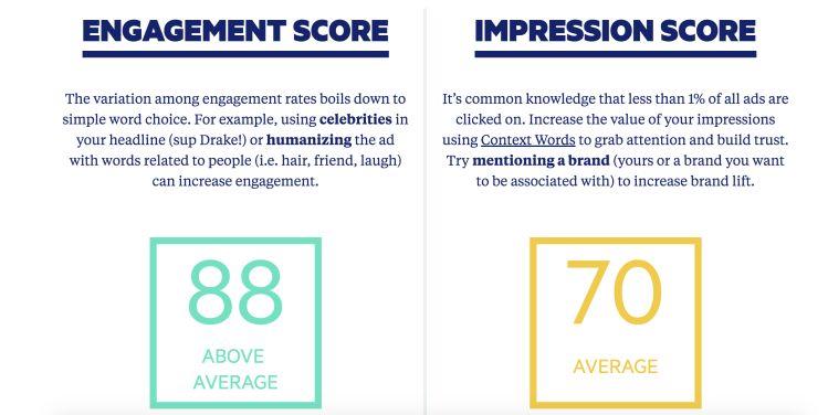 Engagement and Impression
