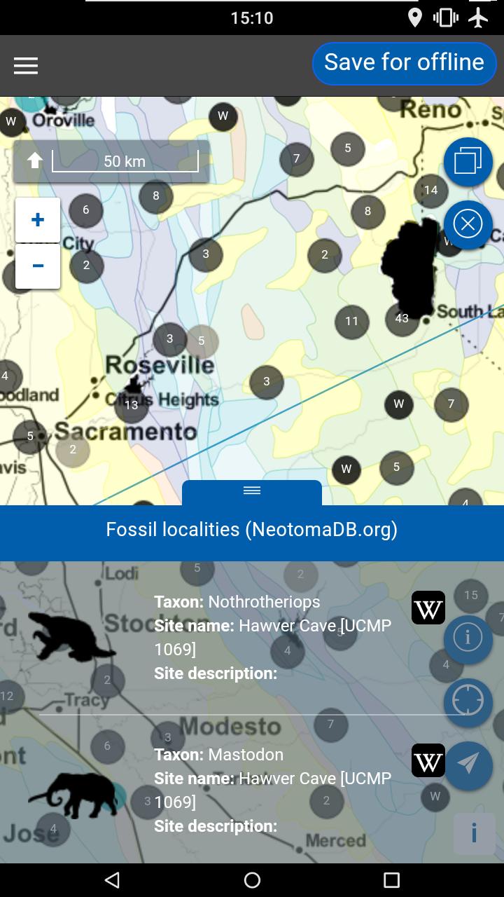 Flover Fossil Data