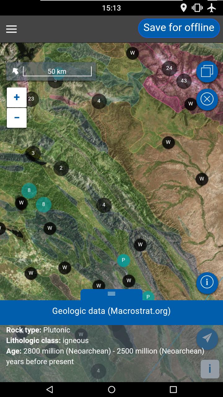 Flyover Geologic Data