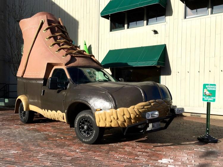L.L.Bean Bootmobile