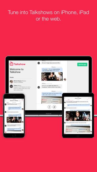 Talkshow Screenshot Platforms