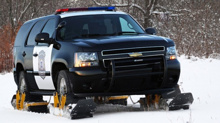 Track N Go on Police SUV