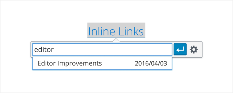 WordPress 45 Inline Links