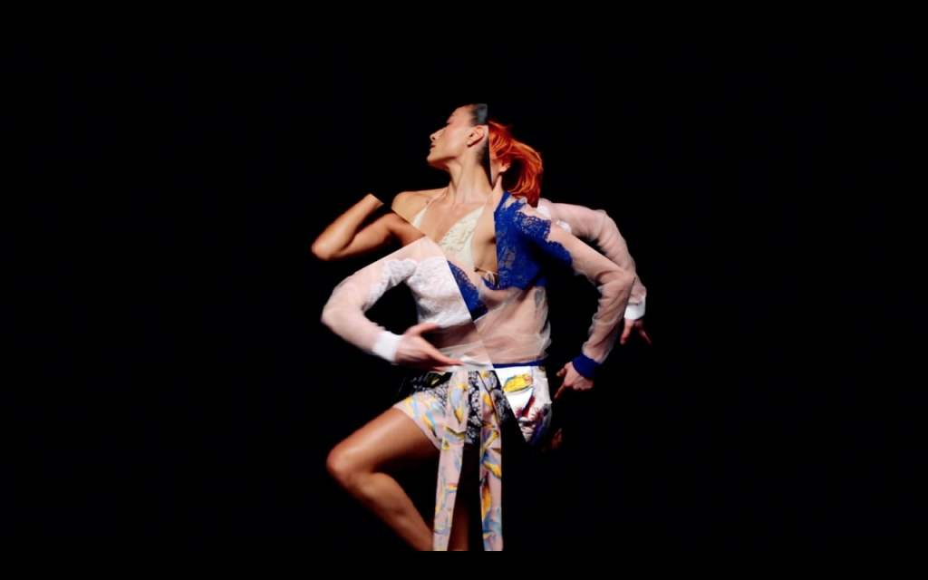 Chimera, A Colorful Interpretive Dance In Which Performers Appear to Multiply From Each Other
