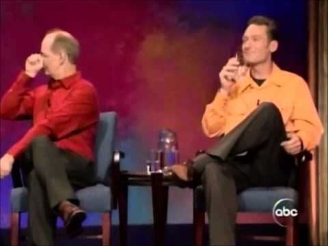 A Funny Compilation of Comedians Ryan Stiles and Colin Mochrie Challenging Each Other