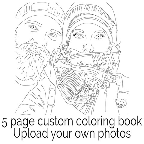 color me book - Custom Coloring Book