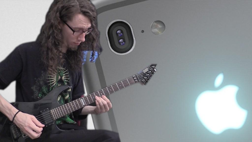 Guitarist Performs an Astounding Heavy Metal Medley of Random iPhone Ringtones